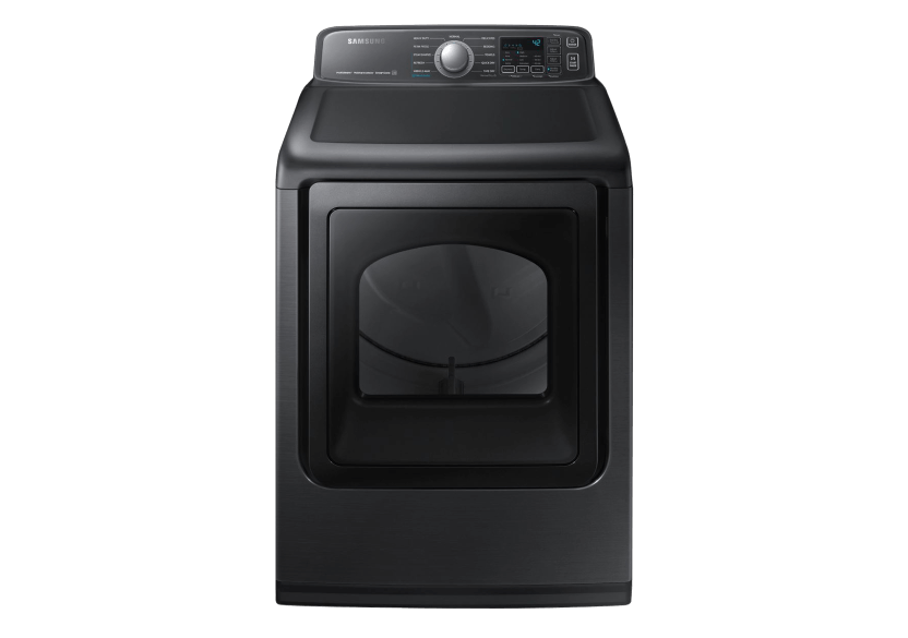 Samsung Dryer - DVE50T7455VAC product photo Front View L