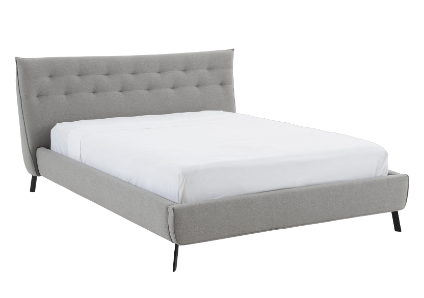 Grey Upholstered - King Bed product photo other01 L