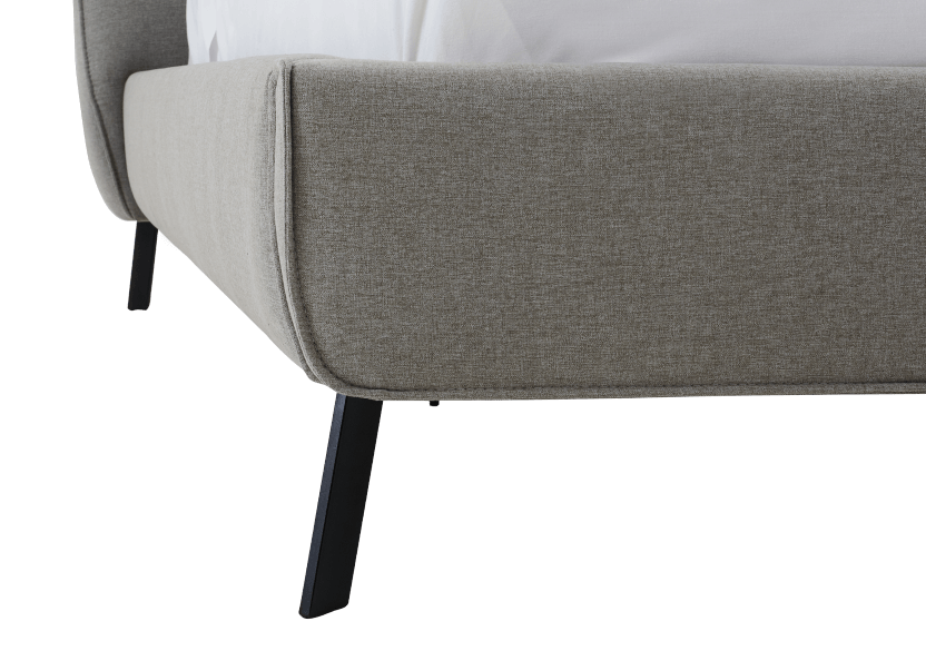 Grey Upholstered - King Bed product photo other04 L