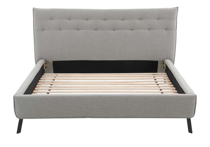 Grey Upholstered - King Bed product photo other06 L