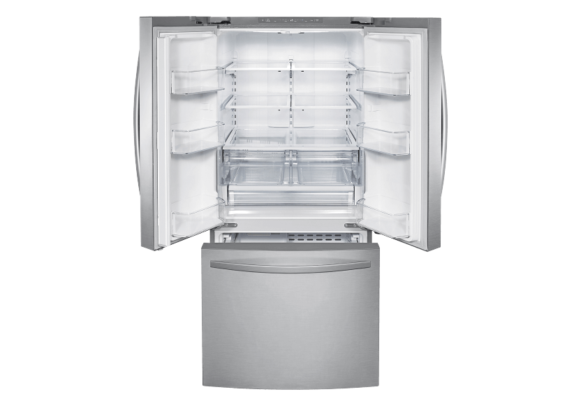 Samsung Bottom Freezer and French Doors Refrigerator - RF220NFTASRAA product photo other01 L