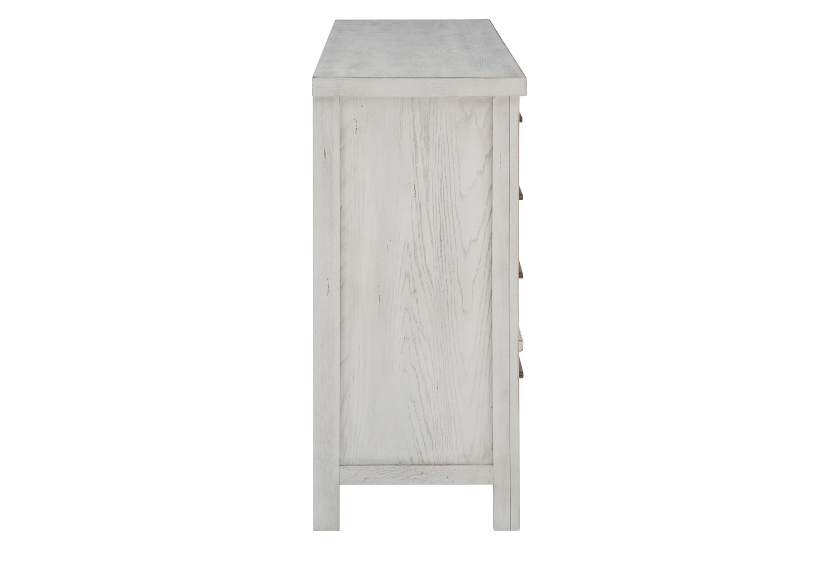 White 8-Drawer Dresser product photo other03 L