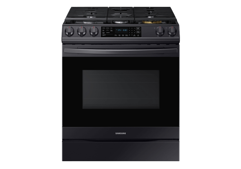 Samsung Built-in Gas Range - NX60T8511SGAA product photo Front View L