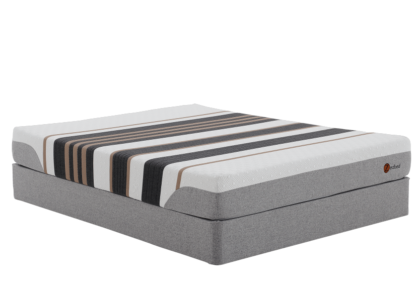 "Zedbed Cantu - 9"" Queen Mattress and Box Spring product photo Front View L"