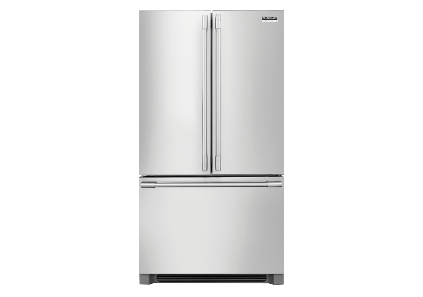Frigidaire Bottom Freezer and French Doors Refrigerator - FPBG2278UF product photo Front View L