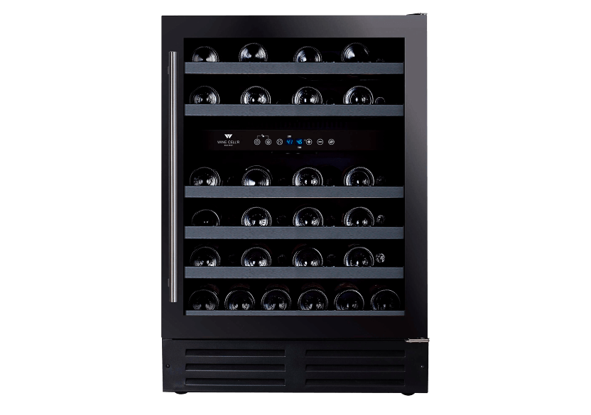 Wine Cell'R Built-in 46 Bottles Wine Cellar - WC46FGDZ5 product photo Front View L