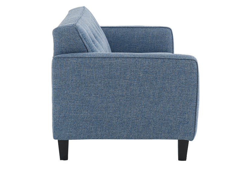 Blue Upholstered Sofa product photo other02 L
