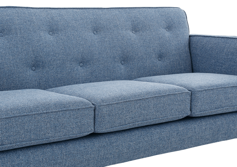 Blue Upholstered Sofa product photo other03 L