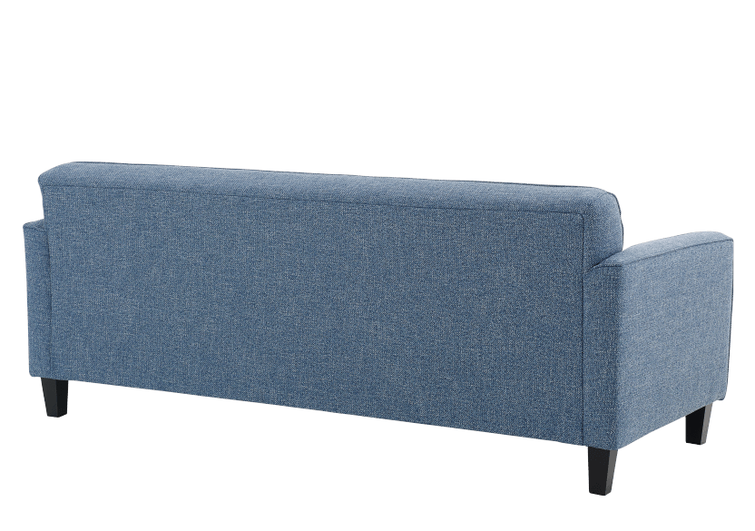 Blue Upholstered Sofa product photo other05 L