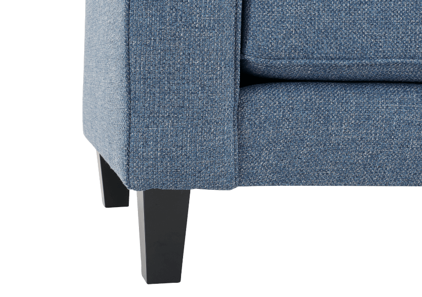 Blue Upholstered Sofa product photo other06 L