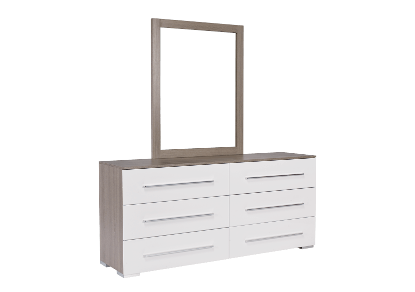 White and Grey Bedroom Set - Queen product photo other03 L