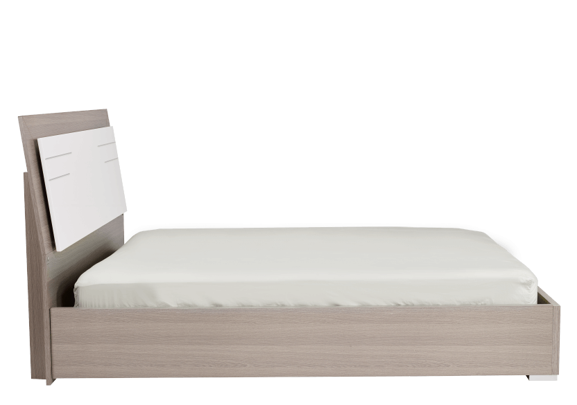 White and Grey - Queen Bed product photo other02 L