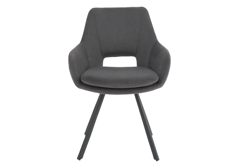 Black Upholstered Chair product photo