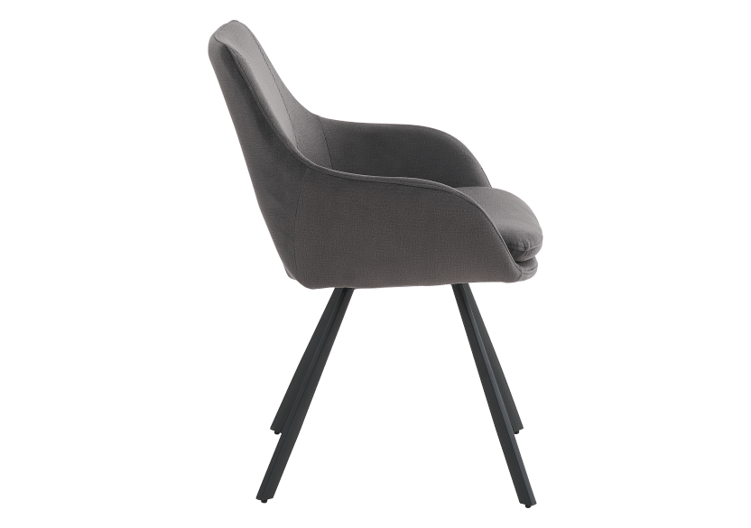 Black Upholstered Chair product photo other02 L
