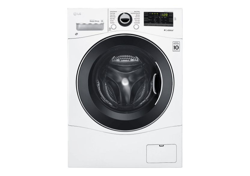 LG Front Load Washer - WM1388HW product photo Front View L