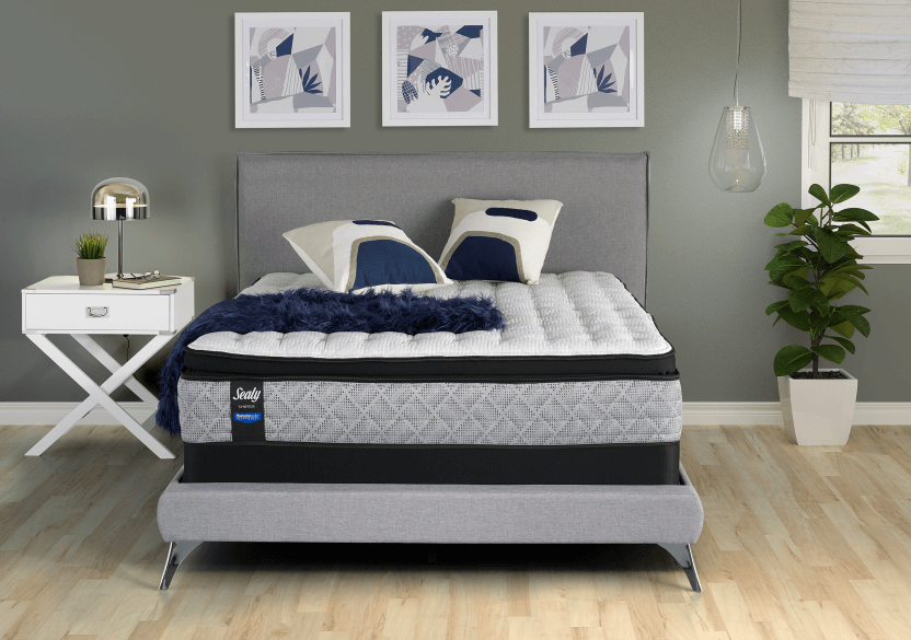"Sealy Zircon - 9"" XL Twin Mattress and Box Spring product photo other01 L"