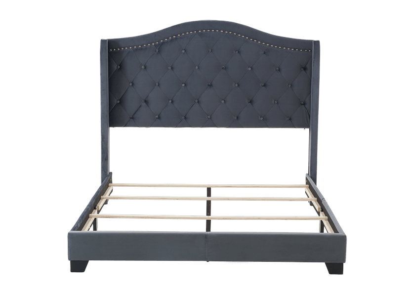 Dark Grey Upholstered - Queen Bed product photo other06 L