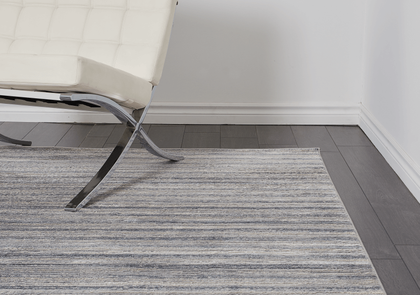 "63x91"" Grey and Blue Rug product photo other04 L"