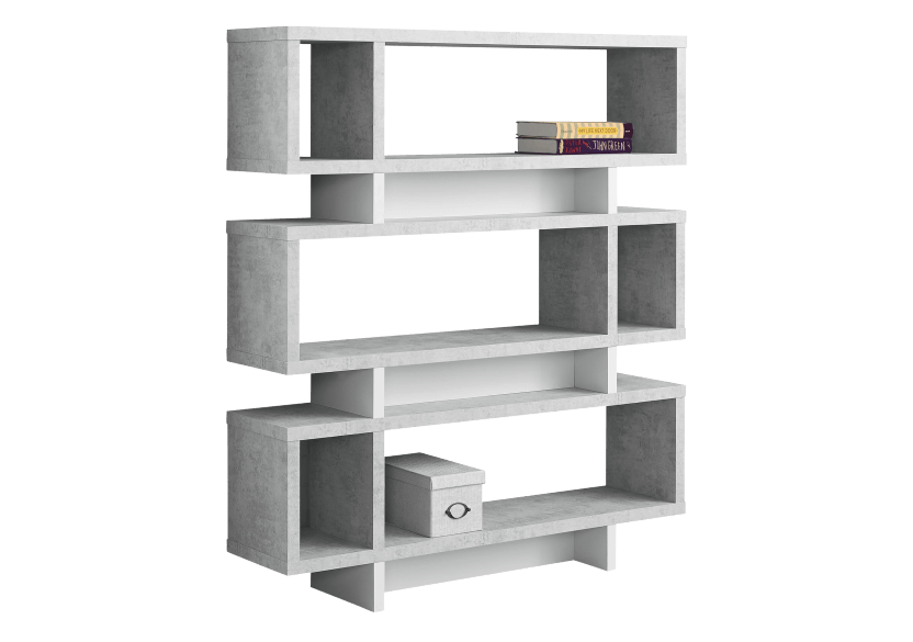 White and Grey Shelf product photo Front View L