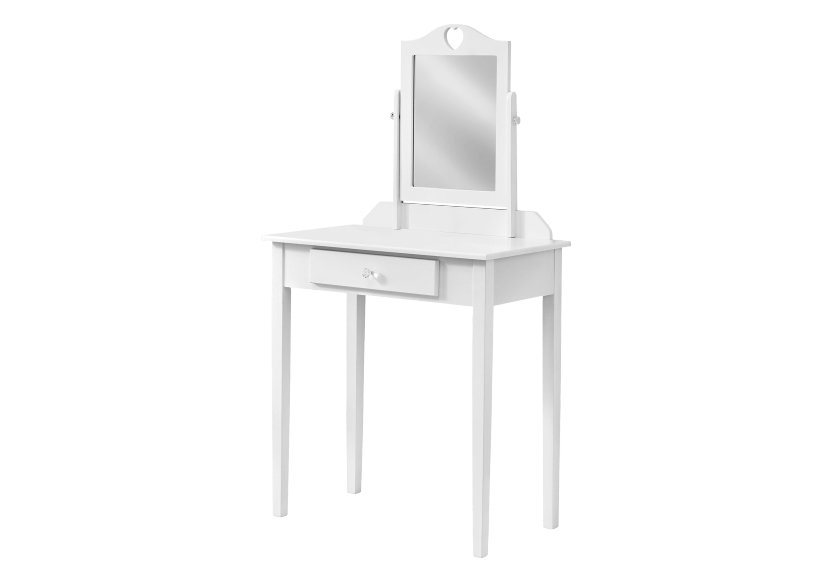 White Wood Dressing Table product photo