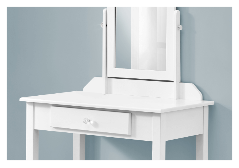 White Wood Dressing Table product photo other01 L