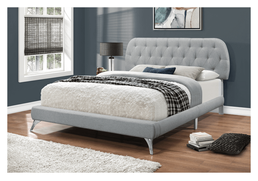 Grey Upholstered - Queen Bed product photo other04 L