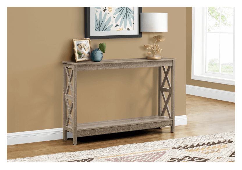 Dark Brown Grey Console product photo other04 L