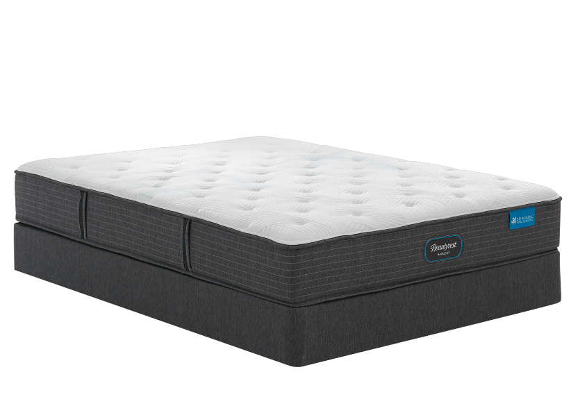 "Simmons Céleste - 5.5"" Twin Mattress and Box Spring product photo Front View L"