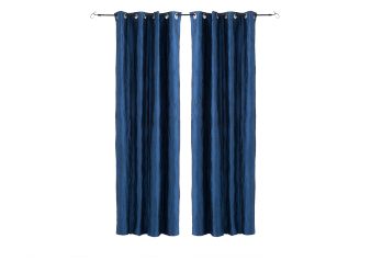 "Set of 2 54x96"" Blue Curtains product photo"