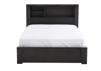 Dark Grey Double Kid Storage Bed product photo