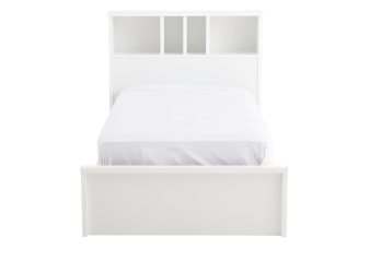 White Twin Kid Bed product photo