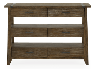 Solid Pine 6-Drawer Buffet product photo