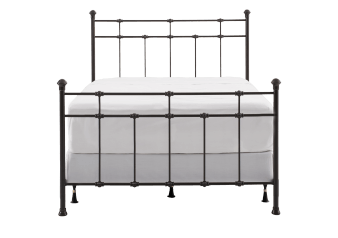 Dark Brown Metal - Queen Bed product photo