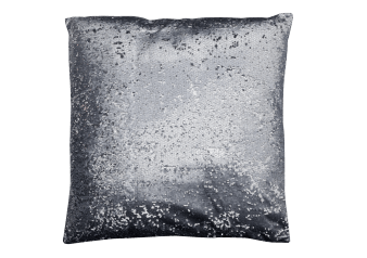 "20x20"" Decorative Pillow with Silver Sequins product photo"