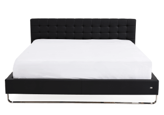 Black Chrome-plated Legs - King Bed product photo