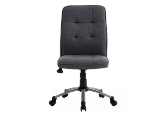 Grey Upholstered Office Chair product photo