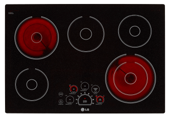 LG Electric Ceramic Cooktop - LCE3010SB product photo