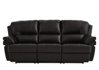Brown Reclining Sofa - ELRAN product photo
