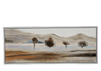 "20x50"" Brown Prairie Painting product photo"