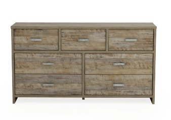 Brown 7-Drawer Dresser product photo