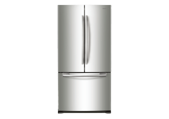 Samsung Bottom Freezer and French Doors Refrigerator - RF18HFENBSR/AC1 product photo