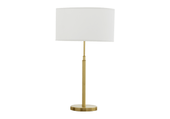 Table Lamp with Beige Shade product photo