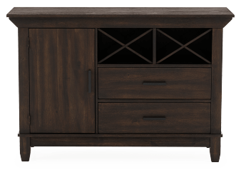 Brown Wood Buffet product photo