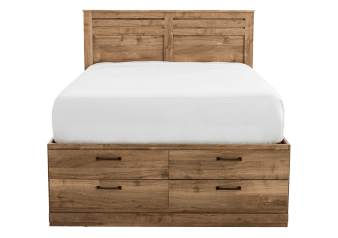 Brown Drawers - Queen Bed product photo