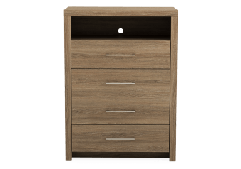 Brown 4-Drawer Chest product photo
