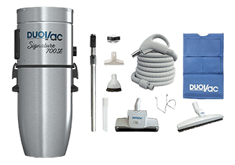 Duovac Central Vacuum and Accessories Kit - A10-260I-NA-SIG PAK-LV87-35-DV product photo