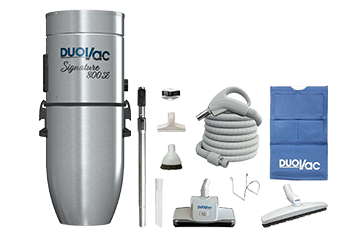 Duovac Central Vacuum and Accessoiries Kit - STR-190I-NA-SIG PAK-LV87-35-DV product photo
