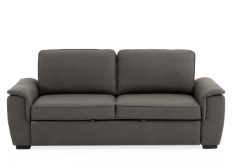 Dark Grey Upholstered Sofa-Bed product photo
