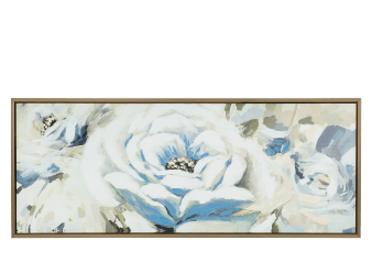 "20x50"" Blue Flower Painting product photo"
