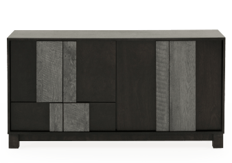 Dark Grey Birch Buffet product photo